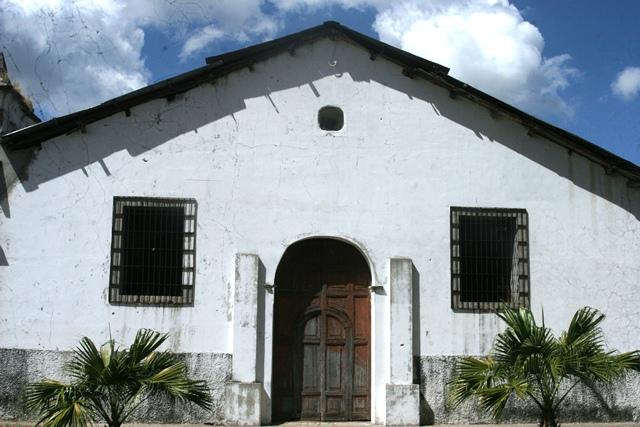 Iglesia del barrrio San José, en Suchitoto