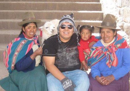 Lucio en Cusco, Perú.