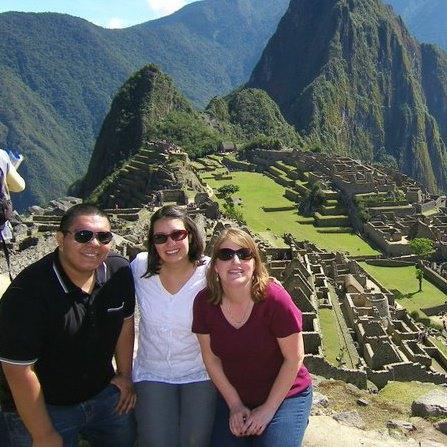 Lucio en Machu Picchu