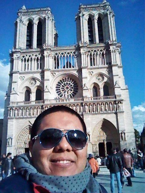 Lucio en Notre Dame