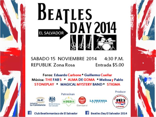 Beatles Day 2014 El Salvador