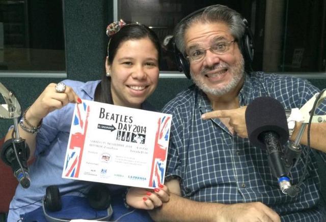 Mónica Starr y Guillermo Cuellar