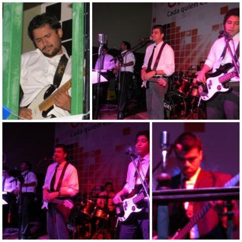 FabFive en el Beatles Day El Salvador 2014