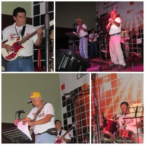 Magical Mystery Band en el Beatles Day El Salvador 2014